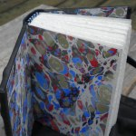 Marbled End Papers Bookbinding