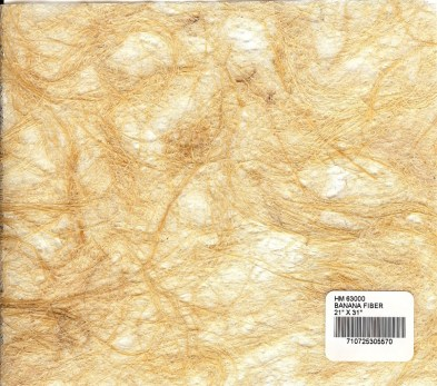 Natural Textured Banana Tree Fiber Paper