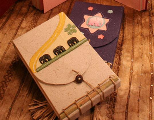 scrapbook japanese stab binding