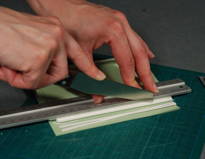Trimming-Excess-Materials-from-Book-Block