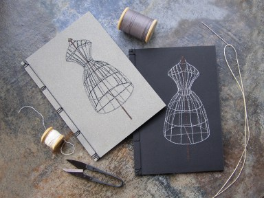 embroidered-notebooks-3d-dress-outline-mesh