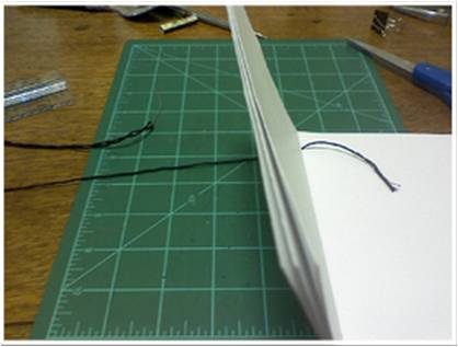 Bookbinding Tutorial Diagram - 11