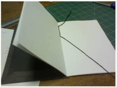 Bookbinding Tutorial Diagram - 13