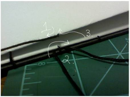 Bookbinding Tutorial Diagram - 15