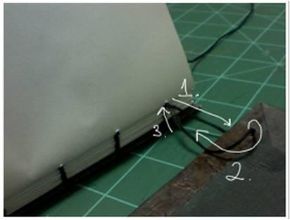 Bookbinding Tutorial Diagram - 17