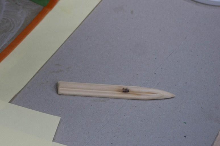 2015.09.02 - Bookbinding Wooden Folder