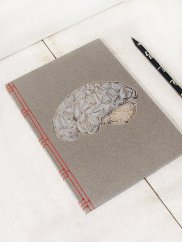 Fabulous Cat Papers Anatomy Japanese Stab Binding Journals