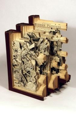 2015.11.19 - Brian Dettmer Book Sculpture - 12