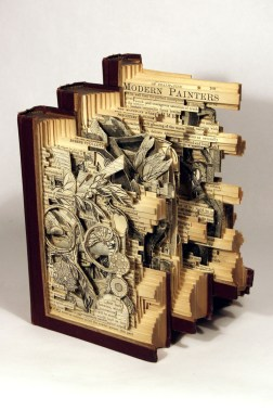 2015.11.19 - Brian Dettmer Book Sculpture - 12