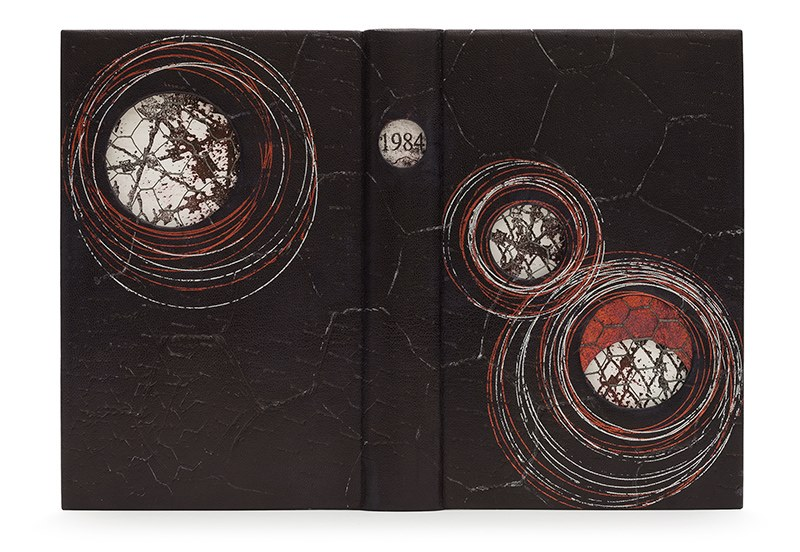 The Shepherds Prize for Book Arts — Miranda Kemp. Nineteen Eighty-Four by George Orwell. Photo by Designer Bookbinders