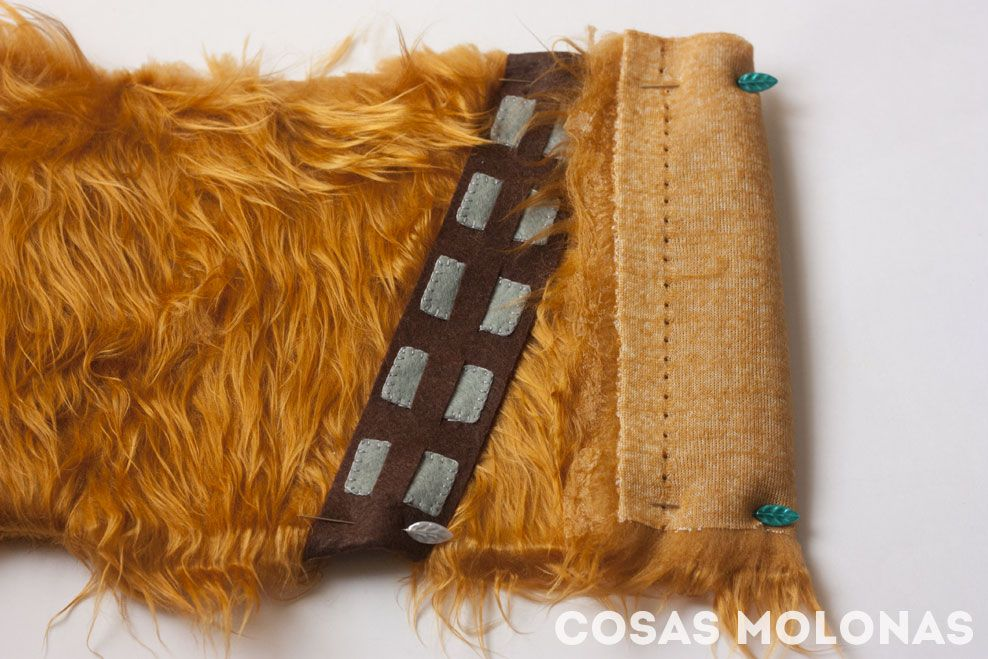 2015.12.16 - Star Wars Meets Bookbinding 04 Chewbacca Diary