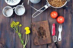 2015.12.16 - Star Wars Meets Bookbinding 21 Wood and Root