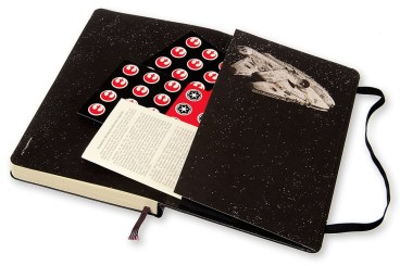 2015.12.16 - Star Wars Meets Bookbinding 34 Moleskine