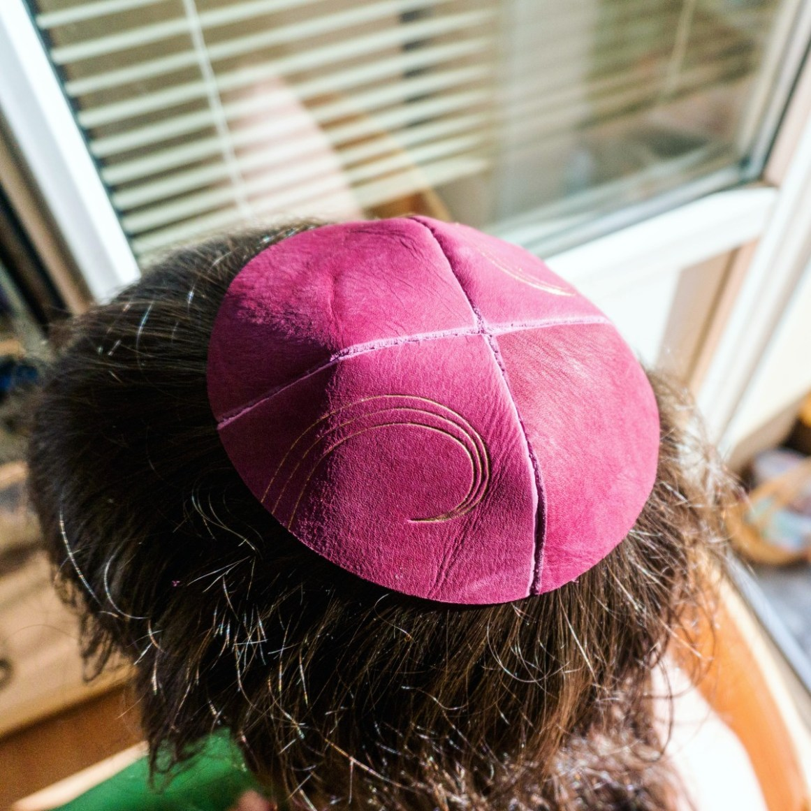 2016.08.19 - 13 - Making Leather Kippot - A Side Job for a Bookbininder