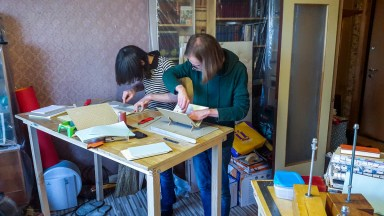 2016.10.07 - First Bookbinding Class of the Season 03