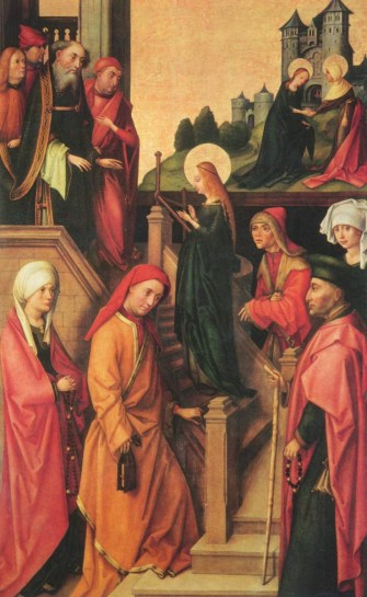 Hans Holbein the Elder, Presentation of Mary (Weingartener Altar: Tempelgang Mariae)
