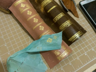 2017.01.30 - Gold Tooling 07 - Gold Tooling Cloth 20