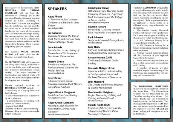 SoB Conf 2017 conf brochure Mondrian