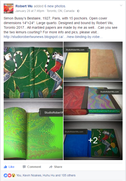 2017.02.21 - Beautiful Bookbinding-Themed Facebook Accounts - Robert Wu 01
