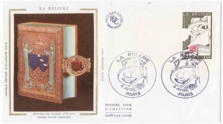 France 2256 - Bookbinding - La Reliure - First Day Cover
