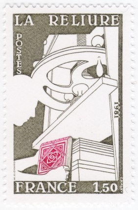 France 2256 - Bookbinding - La Reliure