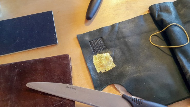 2017.03.28 - Gold Tooling Workshop - Bookbinding 14