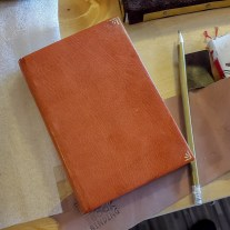2017.03.28 - Gold Tooling Workshop - Bookbinding 17