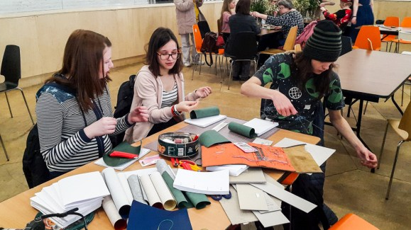 2017.04.09 - Japanese Binding Workshop at Shalom Moscow 02