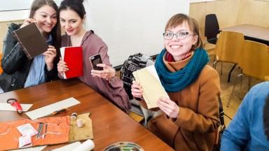 2017.04.09 - Japanese Binding Workshop at Shalom Moscow 04