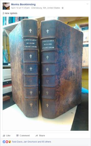 2017.04.17 - 5 Beautiful Bookbinding-Themed Facebook Accounts to Follow - Monks Bookbinding 01