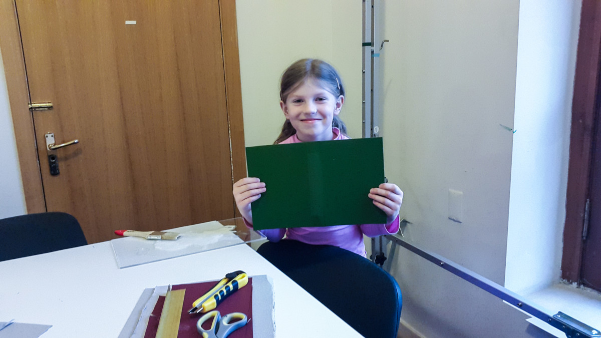 Making Case Binding Covers with Kids 02