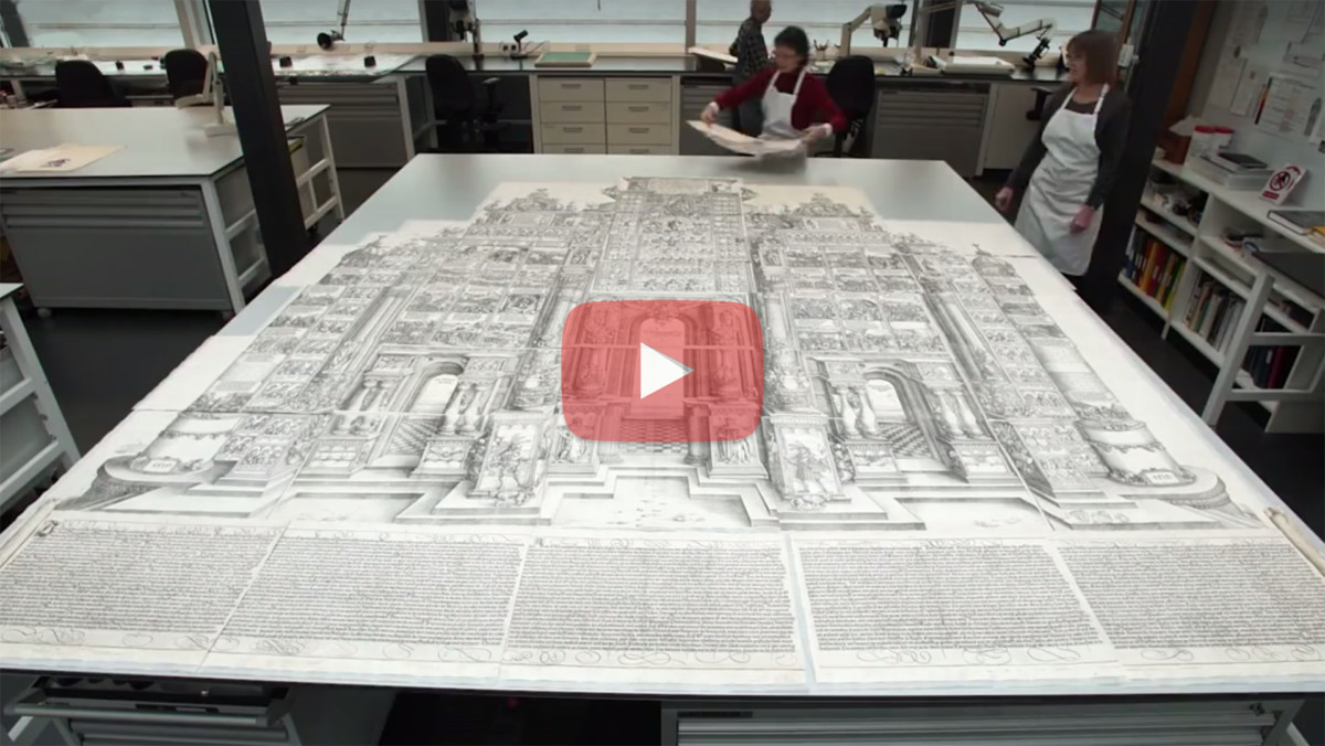 Conservation of the Largest Printed Work of the British Museum Collection