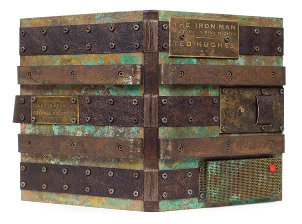 2017.08.18 - Designer Bookbinders International Competition 2017 - Distingiushed Winners - Daniel Wray - The Iron Man