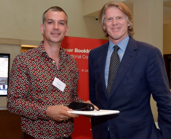 2017.08.18 - Designer Bookbinders International Competition 2017 - Distingiushed Winners - Daniel Wray with Mark Getty KBE