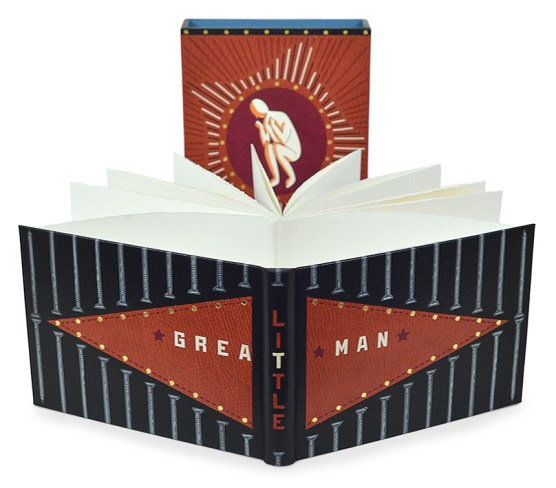 2017.08.18 - Designer Bookbinders International Competition 2017 - Distingiushed Winners - Eri Funazaki - Great Little Man