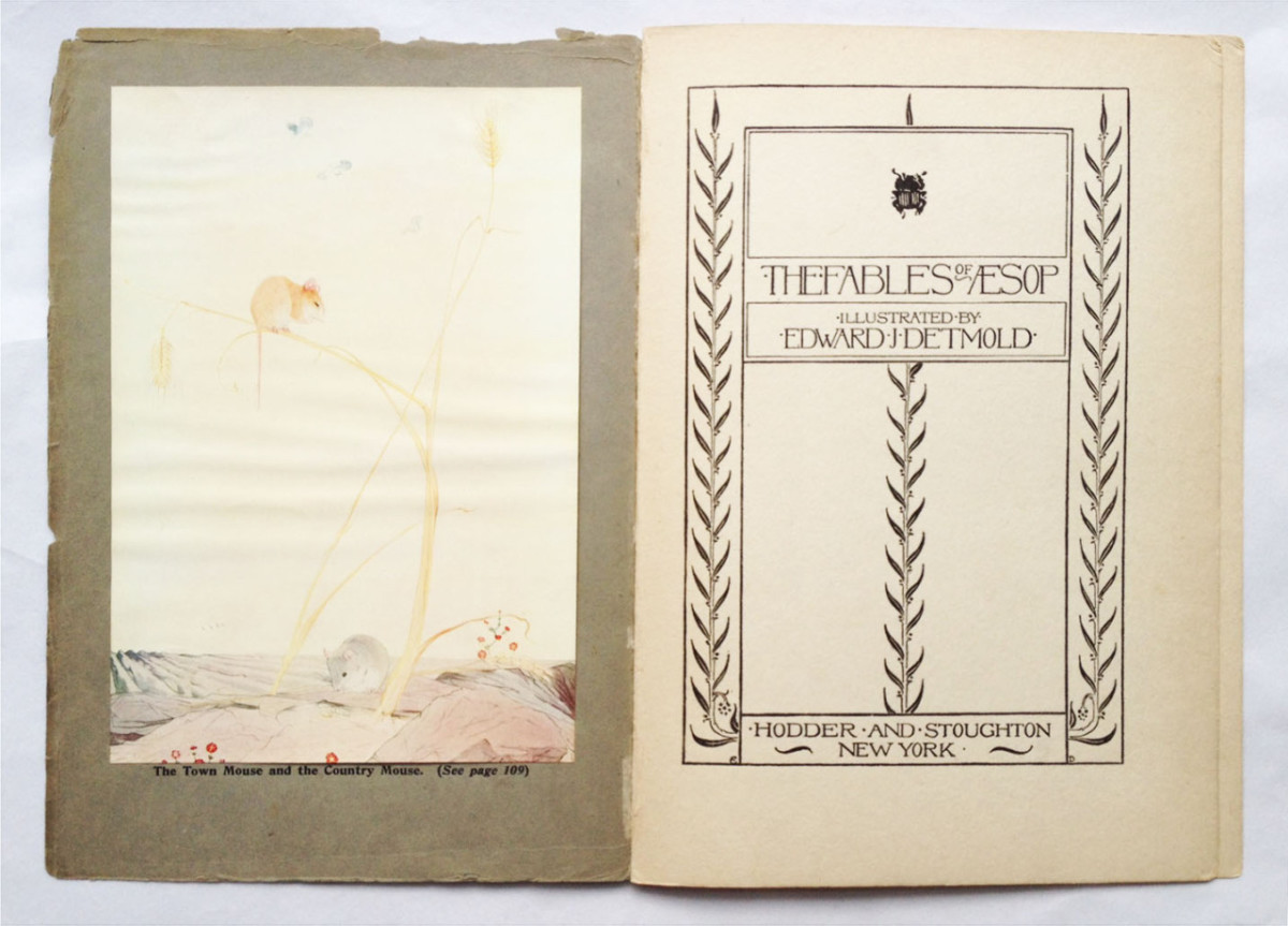 2017.08.18 - Designer Bookbinders International Competition 2017 - Distingiushed Winners - Hannah Brown - The Fables of Æsop 3
