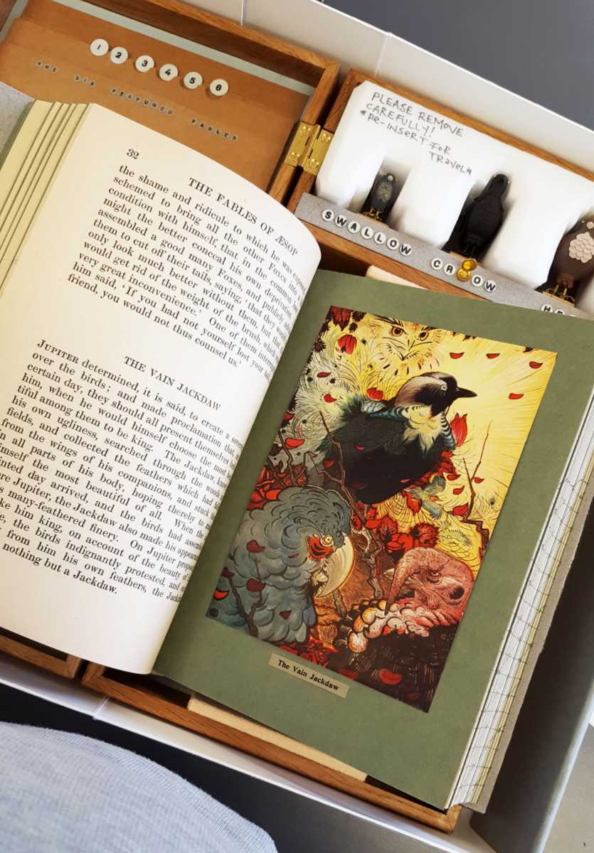 2017.08.18 - Designer Bookbinders International Competition 2017 - Distingiushed Winners - Hannah Brown - The Fables of Æsop 7