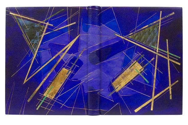 2017.08.18 - Designer Bookbinders International Competition 2017 - Distingiushed Winners - Tom McEwan - Clair de Lune and other Troubadour Romances