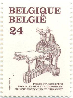 Belgium 1988 Mi BE 2362 - Presse Stanhope Pers - Museum van de Drukkunst