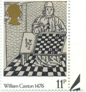 UK 1976 Mi GB 721 - 500 Years of Bookprinting in the UK 11p