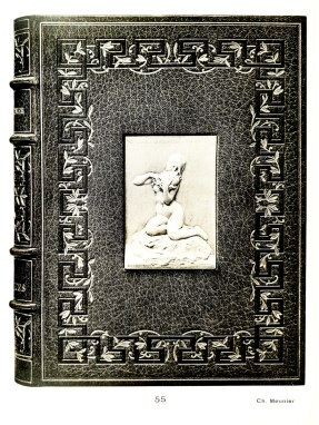 André Chénier - Les Bucoliques. Paris, 1905, in-8. Binding - Ch. Meunier, 1907