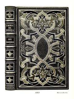 Jose-Maria de Heredia - Les Trophées. Paris, 1893, in-8. Binding - Marius Michel