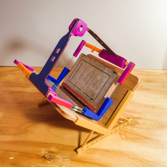 2019.02.18 - iBookBinding Book Scanning Frame. Now For Miniature Books 1