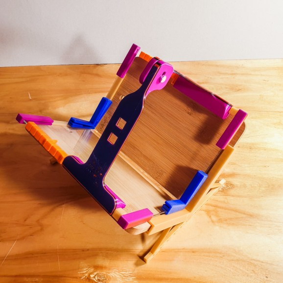 2019.02.18 - iBookBinding Book Scanning Frame. Now For Miniature Books 2