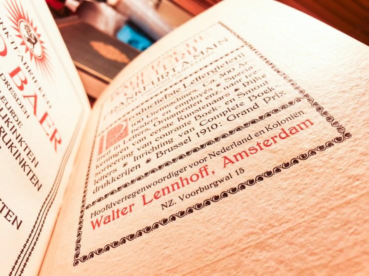 2019.02.21 - Amazing Century-Old Book Industry Ads - Bauersche Gieterij 3