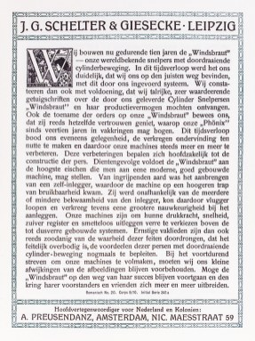 2019.02.21 - Amazing Century-Old Book Industry Ads - J.G. Schelter and Giesecke 2