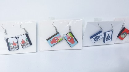 2019.02.28 - Miniature Book Earrings 4