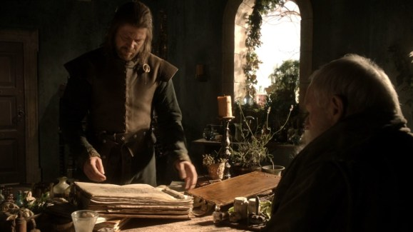 GoT S01E04 00.21.42 - The Lineage and Histories of the Great Houses of the Seven Kingdoms