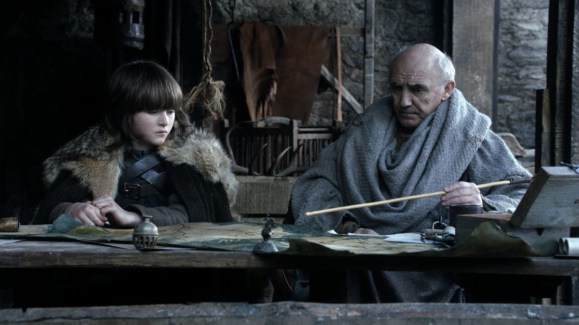 GoT S01E05 00.13.47 - Bran studying the map of the Seven Kingdoms