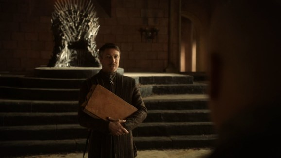GoT S01E05 00.22.50 - Petyr Baelish's ledger